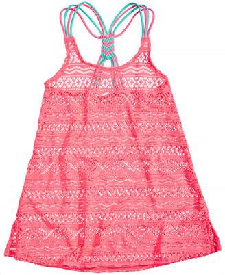 Summer Crush Crochet Cover Up, Big Girls
