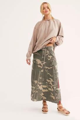 Danang Military Long Skirt