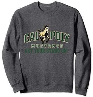 NCAA Cal Poly SLO Mustangs Cozy Sweatshirt PPCPO04