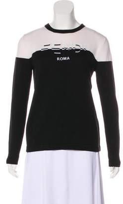 Fendi Wool Medium-Weight Sweater
