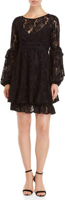 Free People Ruby Mini Lace Dress