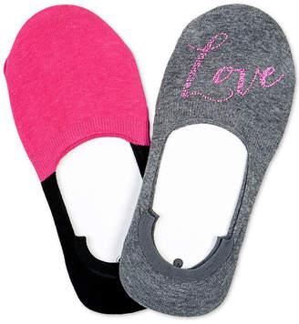 Hue 2-Pk. Sneaker Liner Socks