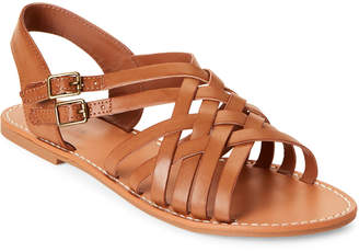 Indigo Rd Tan Brieg Strappy Flat Sandals