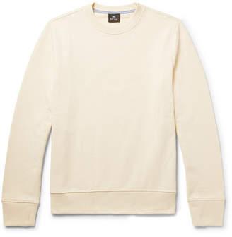 Paul Smith Loopback Organic Cotton-Jersey Sweatshirt