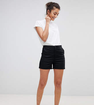 Asos Tall DESIGN Tall chino shorts in black