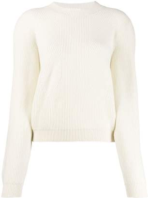 Circus Hotel wide sleeve knitted jumper