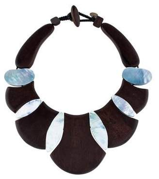 Mother of Pearl Viktoria Hayman & Wood Statement Choker