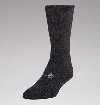 """Under Armour UA Mens Charged Wool Boot Socks â"""" 2-Pack"""