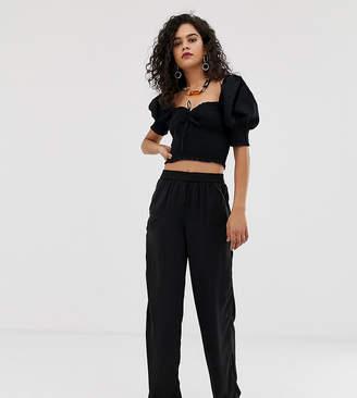 Vero Moda Tall Wide Leg Pant With Elasticated Waist