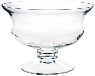 One Kings Lane Millennium Footed Serving Bowl - Clear