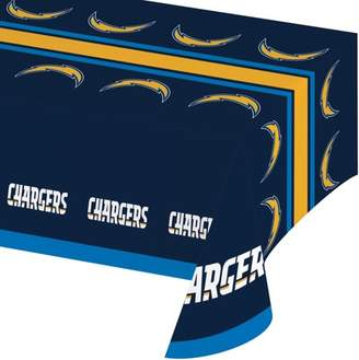 NFL Los Angeles Chargers Plastic Tablecloth, each