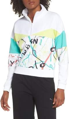 Puma x Shantell Martin Quarter Zip Pullover
