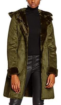 Liu Jo LIUJC) Women's Pourpre Ls Duffle Long Sleeve Jacket,10 (Manufacturer Size:42)