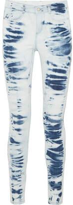 Stella McCartney Tie-dyed Mid-rise Skinny Jeans - Indigo