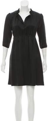 Miguelina Silk Mini Dress