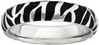 JCPenney FINE JEWELRY Stackable Animal-Print Enamel Ring