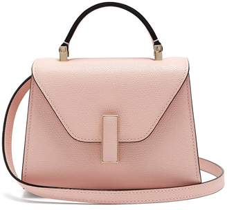 Valextra Iside micro grained-leather bag