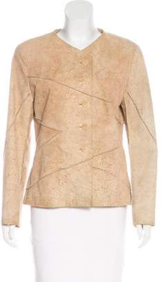 Chanel Suede Patchwork Jacket