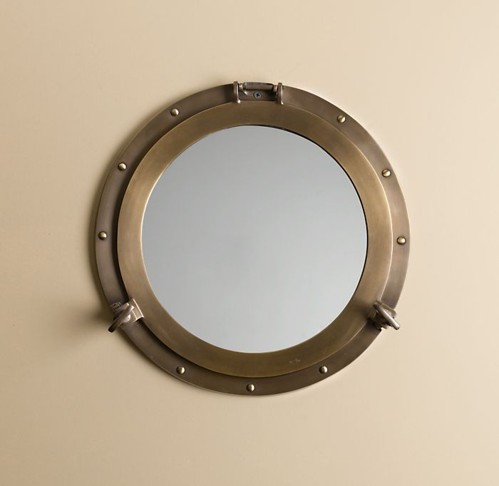 Inspired sail away popsugar home for Porthole style mirror