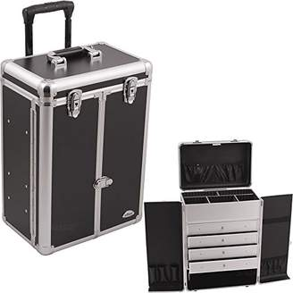 SUNRISE Makeup Case on Wheels C6008 Professional Organizer