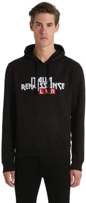 Italia Independent Lvr Editions Hooded Cotton Sweatshirt