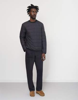 Penfield Fairfax Quilted Sweat Black