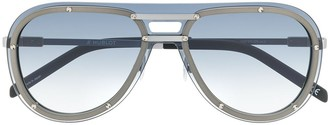 Hublot Eyewear exposed lens aviator sunglasses