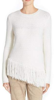 Theory Hudina Fringe Sweater