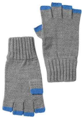 Public Opinion Fingerless Colored Tip Gloves