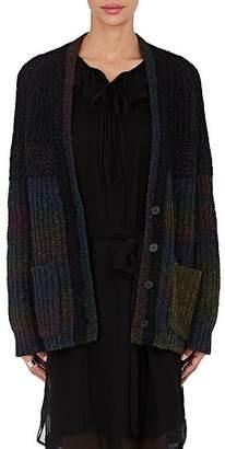 Raquel Allegra Women's Ombré Merino Wool-Blend Chunky Cardigan $695 thestylecure.com
