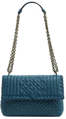 72c163f383f6 Bottega Veneta Blue Chain Strap Shoulder Bags for Women - ShopStyle ...