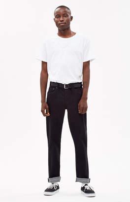 Brixton Reserve Black Straight Leg Jeans