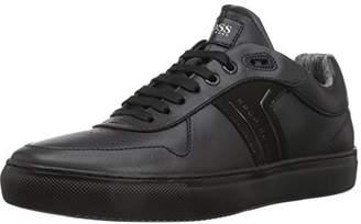 HUGO BOSS BOSS Green Men's Enlight Tenn Leather Sneaker
