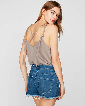 Express One Eleven Strappy Back Tank