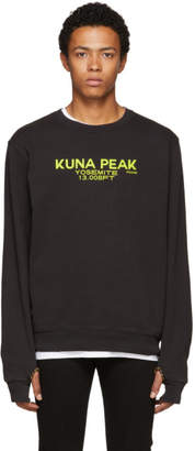 Frame Black Kuna Peak Sweatshirt
