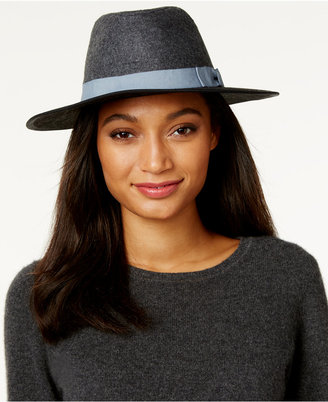 INC International Concepts Colorblock Panama Hat, Only at Macy's $32.50 thestylecure.com