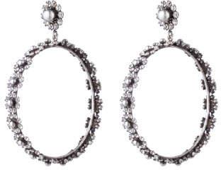 Dannijo Alix Hoop Drop Earrings