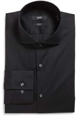 BOSS 'Jason' Slim Fit Solid Stretch Dress Shirt