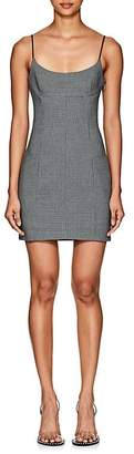 Alexander Wang Women's Houndstooth Fitted Minidress