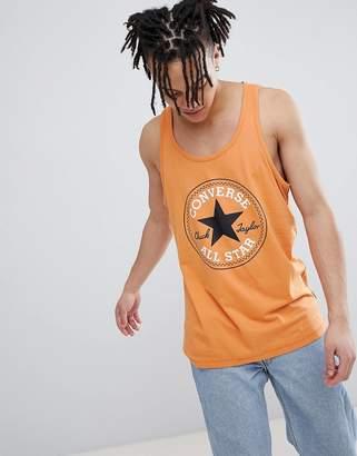 Converse Chuck Patch Tank In Orange 10006142-A02