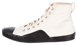 Balenciaga Cap-Toe High-Top Sneakers