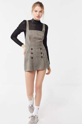 Urban Outfitters Cassidy Square-Neck Skort Romper