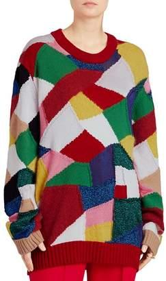 Burberry Gladey Patchwork Sweater