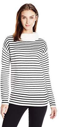 ATM Anthony Thomas Melillo Women's Roll Neck Cozy Sweater