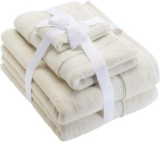 Nike Chaps Home 6-piece Turkish Cotton Luxury Bath Towel Set