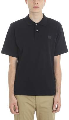 Acne Studios Black Cotton Polo