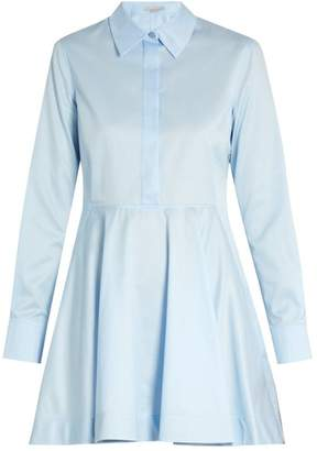 Stella McCartney Leile point-collar cotton shirtdress