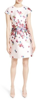 Women's Ted Baker London Ibia Floral Print Sheath Dress $335 thestylecure.com