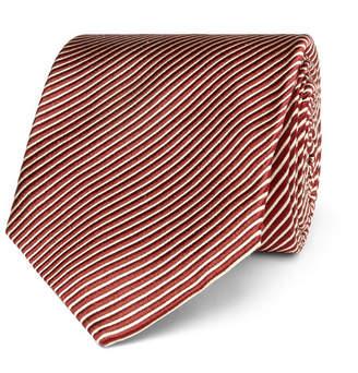 Tom Ford 8cm Striped Silk Tie
