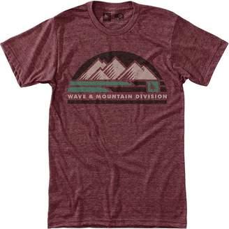 Hippy-Tree Hippy Tree Wavefront Short-Sleeve T-Shirt - Men's